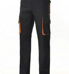 Pantalone bicolore multitasche