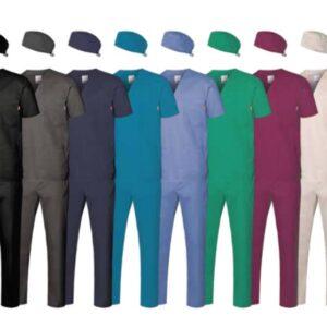 Pantaloni con elestico in stretch Tecnical Texture