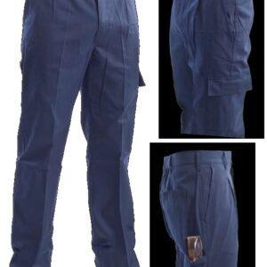 Pantalone Blu in Fustagno invernale