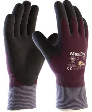 Guanti MaxiDry® Zero™ Rivestimento intero, polso a maglia